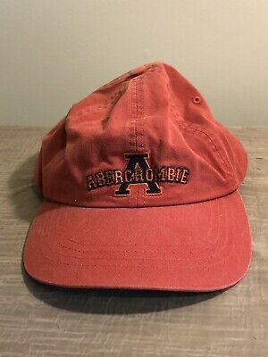Vintage Abercrombie & Fitch 1892 Baseball Cap Hat 100% Cotton