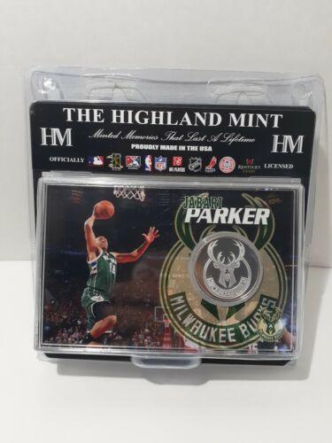 NBA Jabari Parker Silver Mint Coin W/ Card & Stand Milwaukee