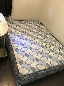 Like new twin size mattress and matching boxspring