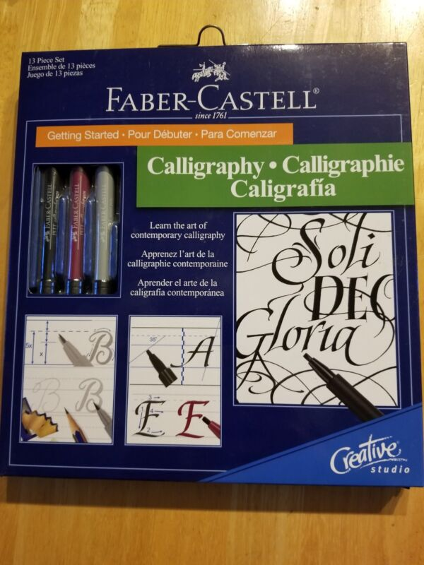 Getting Started Calligraphy Kit 13 pieces, Faber-Castell