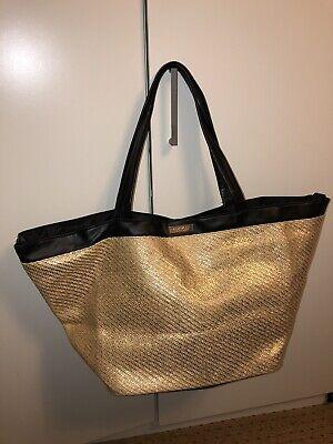 Versace (parfums) Large Tote Bag Gold