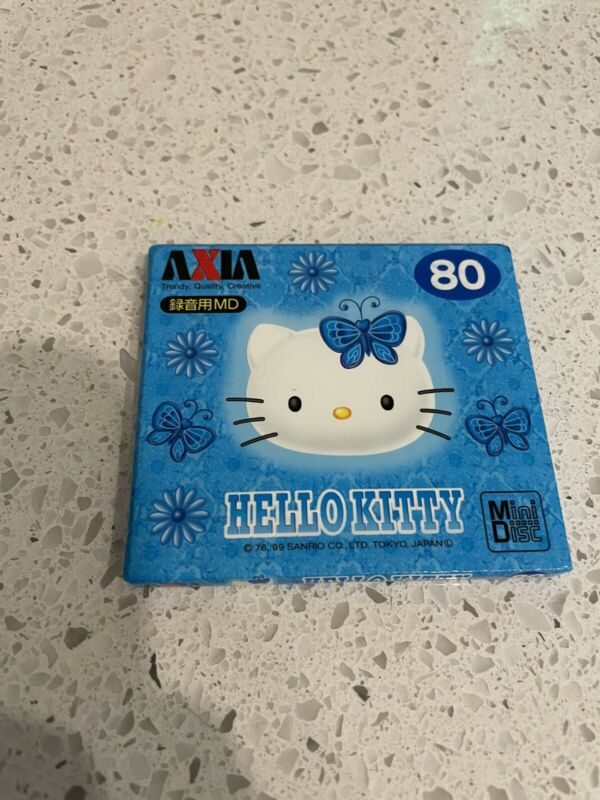 AXIA minidisc hello kitty 80min MD