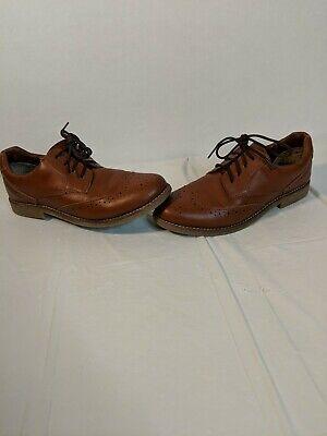 Cole Haan Men's 6 Harrison Wingtip Brown Faux-Leather Oxford Dress...