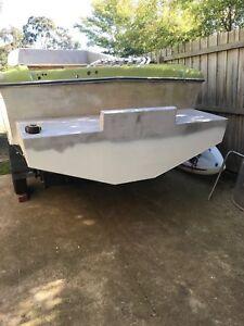 Boat pod aluminium