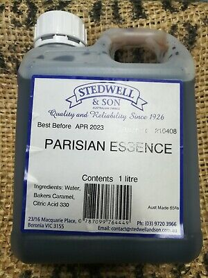 PARISIAN ESSENCE 1L  AUSSIE MADE & OWNED - FREE POST (BEST VALUE)