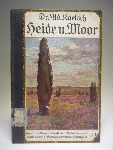 Adolf Koelsch - Durch Heide und Moor 1910 - Kosmos Natur Buch Führer