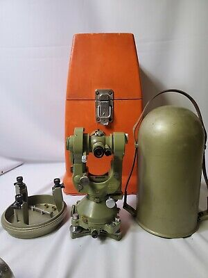 T2 - 55465 Wild-heerbrugg-theodolite With Both Cases