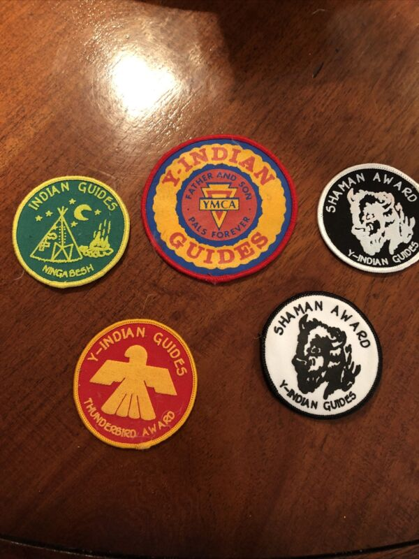 Vintage Indian Guides Patches