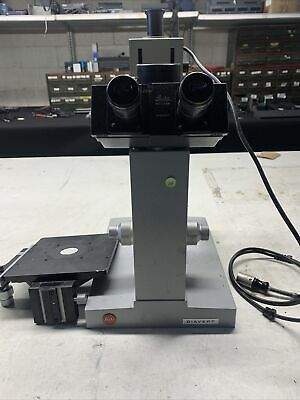 Leitz Diavert Microscope Mw2d
