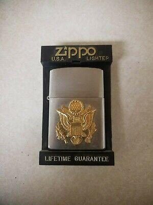 New Zippo American Eagle Army Lighter