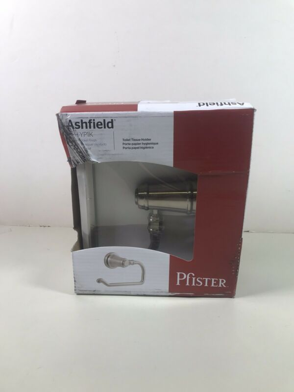 Pfister Ashfield Toilet Tissue Holder Brushed Nickel BPH-YP1K