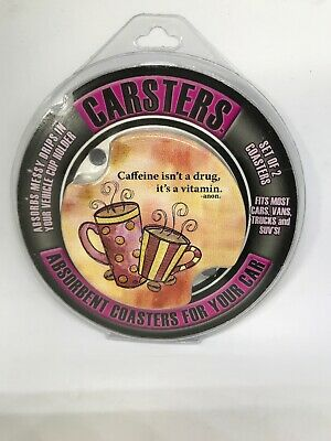 Thirstystone Car Coasters Carsters Caffeine Is A -