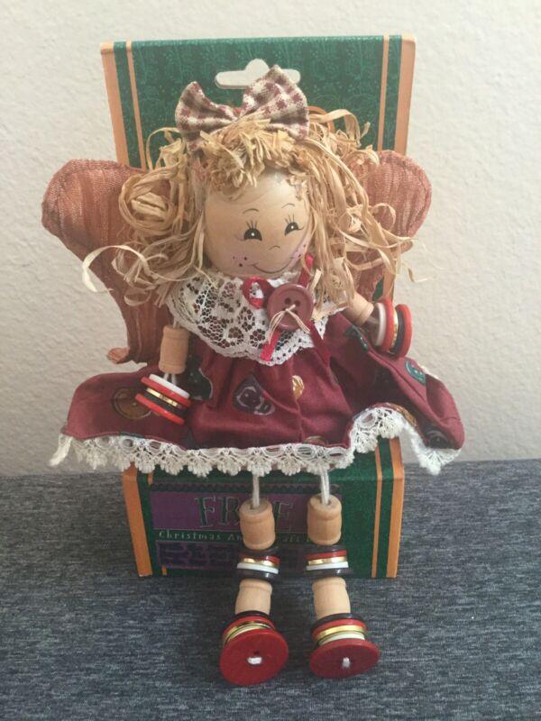 American Greetings  Christmas angel craft doll dandee
