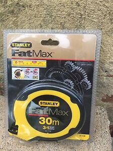 STANLEY FatMax 30m Measuring Tape Springfield Gosford Area Preview