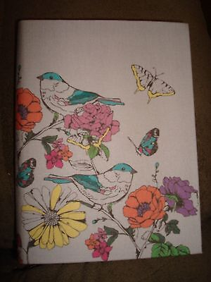 PAPERCHASE JOURNAL BIRD FORAL NOTEBOOK SMALL