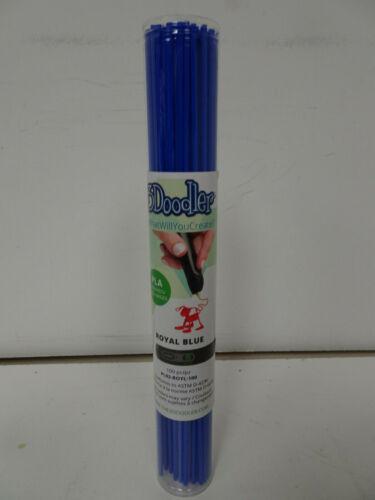 3Doodler PLA Single Color Plastic Pack (Royal Blue, 100 Strands)