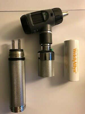 Welch Allyn Macroview Otoscope Ophthalmoscope Plugin Handle - Diagnostic Set