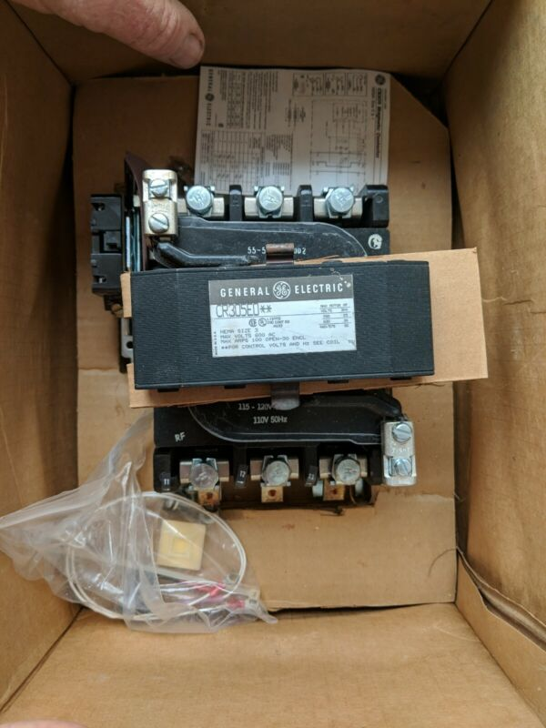 GE General Electric Contactor CR305EO NEMA Size 3
