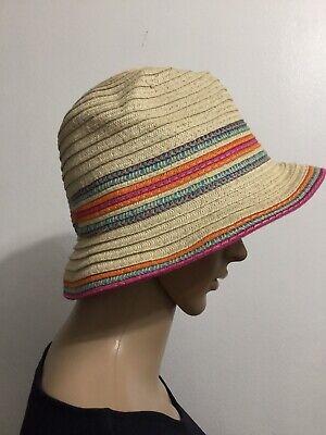 Womens Packable Straw Summer Hat Zara