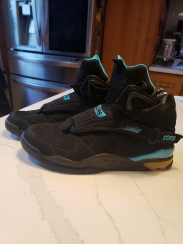 CONVERSE Cons Aero Jam Larry Johnson CHARLOTTE HORNETS Retro Sneakers Sz 11