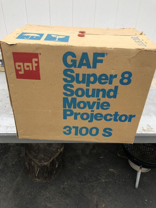 Gaf Super8 Sound Movie Projector 3600S