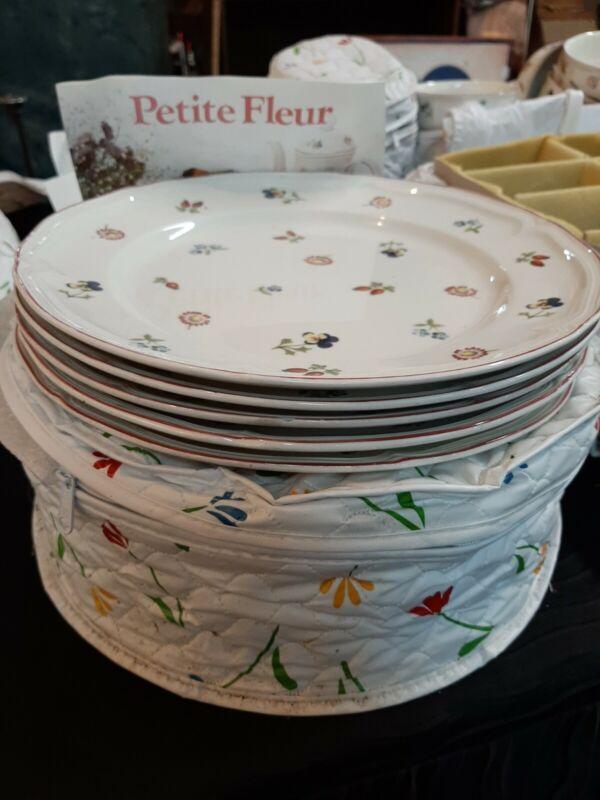 15 Piece Dinner Plate Petite Fleur Set