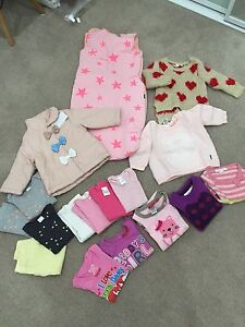 6-12 months (size 0) variety baby girl clothes North Ryde Ryde Area Preview