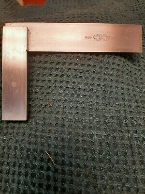 Brown And Sharpe 4 12 Square 540 Used Very Good Shape