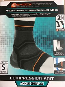 Compression ankle supports