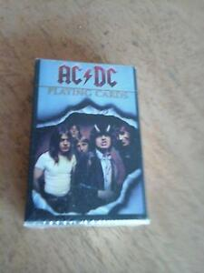 AC/DC Playing Cards RARE EDITION Clayfield Brisbane North East Preview