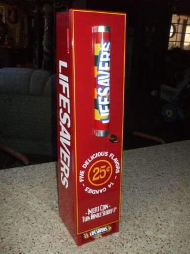BEAUTIFUL Lifesavers candy vending machine diner arcade candy mancave gameroom