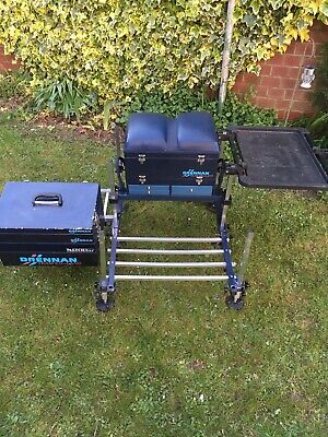 Drennan Team England Matchbox Seat Box And Platform/Trolley
