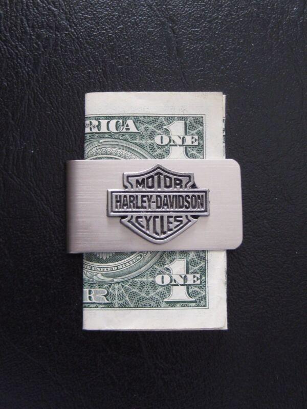 """Harley Davidson Bar & Shield Pin Money Clip """"Great Gift"""""""