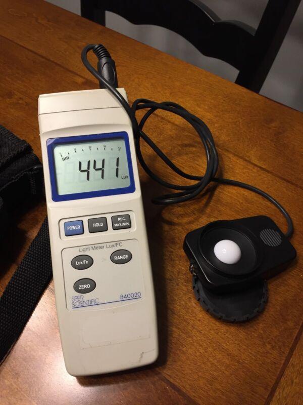 SPER SCIENTIFIC Light Meter Lux 840020