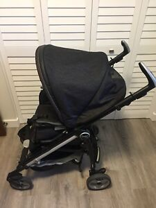 Peg Perego Switch Four Stroller w/multiple accessories
