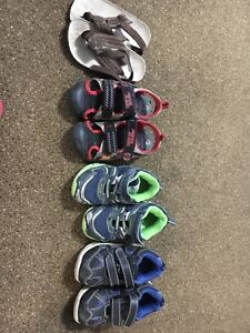 Boys shoes size 9 and 10