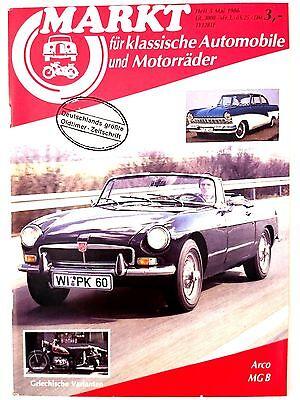 Markt für klassische Automobile und Motorräder 5 1986 Arco MG B