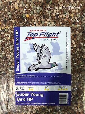 Bamfords Top Flight Super Young Bird Pigeon Food 20KG  BMFD DS