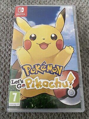 Pokemon: Lets Go Pikachu -  Nintendo Switch