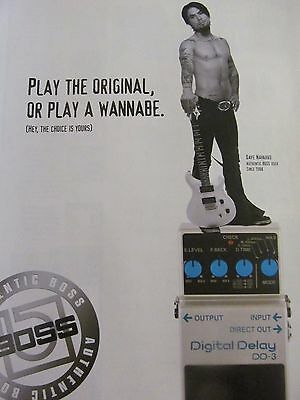 Jane's Addiction, Dave Navarro, Boss, Full Page Vintage Promotional Ad