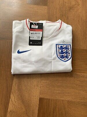 England Nike Football Home Shirt Youth 11-12 Rrp £47.99
