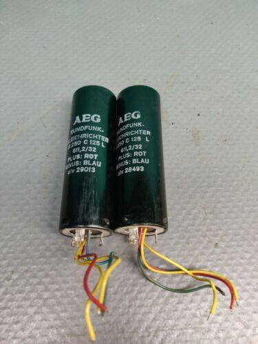 AEG Selengleichrichter  B250 C125 Selenium rectifiers . R