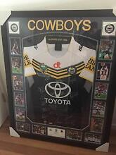 2015 Cowboys Premiership Framed Collectors Jersey Cannonvale Whitsundays Area Preview
