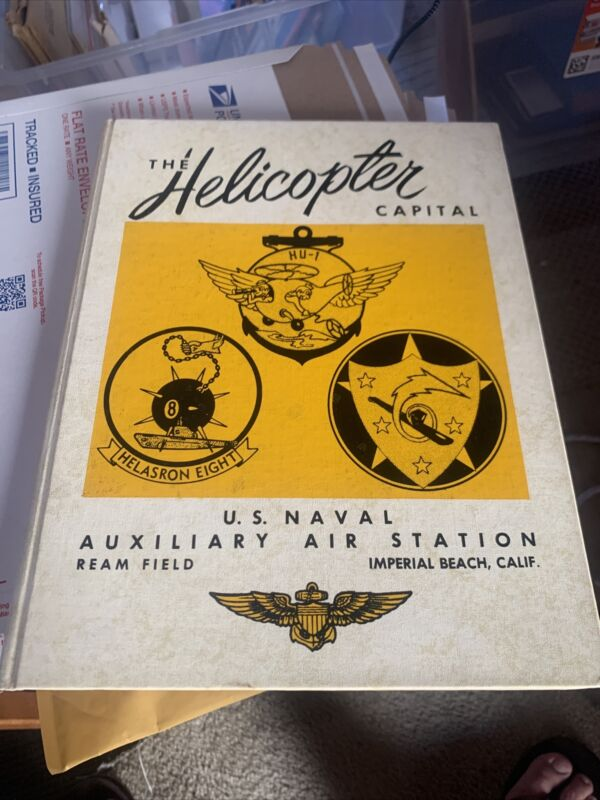 Helicopter Capital  USN Training Center 1957 Yearbook Training Ream Field