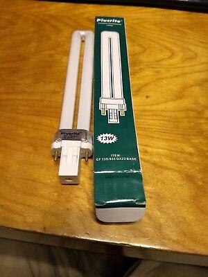 Plusrite 04010 13 Watt - 2 Pin GX23 Base - 3500K   CF 13S/835 GX23 Base 2 Pin Gx23 Base
