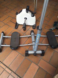 Fitness gym equipment leg master bike spin machine 5kg dumbells