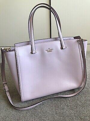 Kate spade Lilac  Purple Leather Handbag