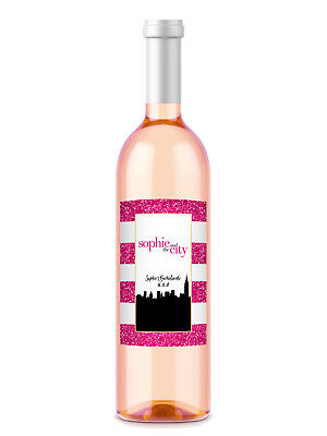 Party City Favors (8 Diva Sex in the City Bachelorette or Birthday Party Favors Wine Bottle)
