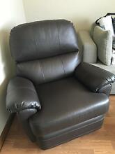 Hardly used MORAN FURNITURE Leather Recliner in Chocolate colour. City Beach Cambridge Area Preview