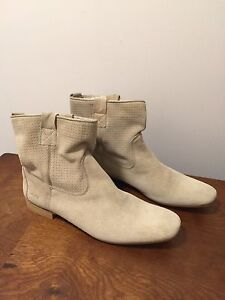 MCS suede all leather boots